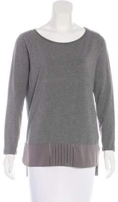 Fabiana Filippi Embellished Long Sleeve Top