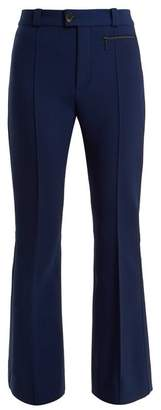 Kwaidan Editions Zermatt High Rise Kick Flare Trousers - Womens - Navy