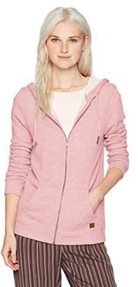 Roxy Women's Trippin Zip up Fleece Sweatshirt