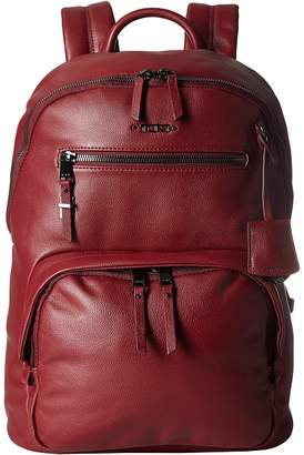 Tumi Voyageur Hagen Leather Backpack Backpack Bags