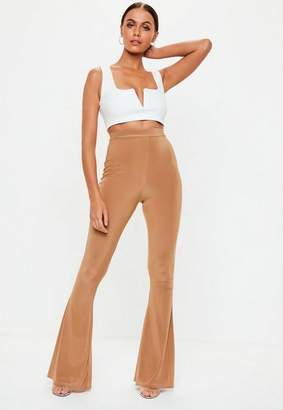 Missguided Slinky Flare Trousers