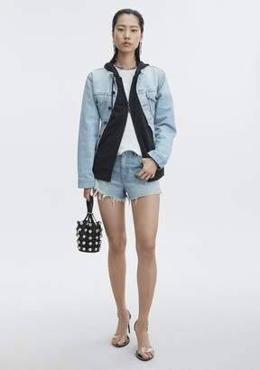 Alexander Wang BITE CUT-OFF DENIM SHORTS