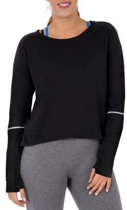 Athletic Works Women's Active Long Sleeve Tunic With Reflective Detail