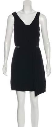 Rag & Bone Mesh-Trimmed Sleeveless Dress