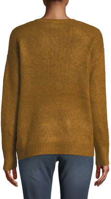 Dex Pearly-Stud Relaxed-Fit Sweater