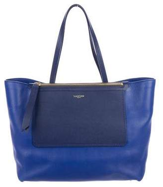 Lanvin Leather Zip Tote