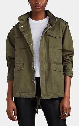 VIS Ā VIS Women's Cotton Field Jacket - Olive