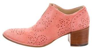 Rocco P. Laser Cut Ankle Boots