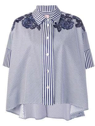 Antonio Marras striped short-sleeve shirt