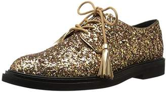 Kenneth Cole New York Women's Annie Menswear Style Glitter Oxford