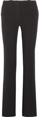 Altuzarra Serge Crepe Flared Pants - Black