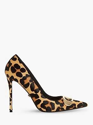 Dune Belvedere Stiletto Heel Court Shoes