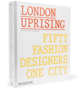 Phaidon London Uprising Hardcover Book - White