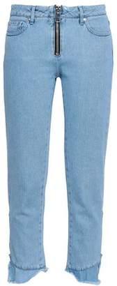 MSGM Mid-rise Slim-leg Jeans