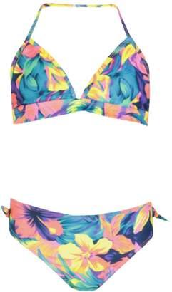 boohoo Girls Tropical Bikini Set