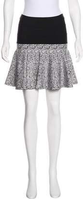 Robert Rodriguez Flared Mini Skirt