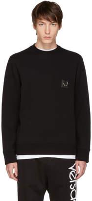 Neil Barrett Black Barbell Sweatshirt