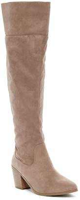 Madden-Girl Melinda Studded Tall Boot