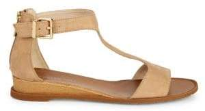 Kenneth Cole New York 7 Judd Leather T-Strap Sandals