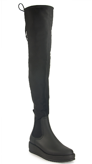 Jeffrey Campbell Jeffrey Campbell - Monsoon 2 - Neoprene Knee Hi Boot
