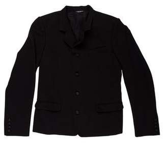 Dolce & Gabbana Virgin Wool-Blend Woven Jacket