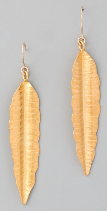 Bop Bijoux Feather Earrings
