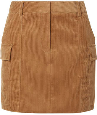 Stella McCartney Cotton-corduroy Mini Skirt - Camel