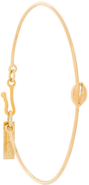 metal shell cuff bracelet