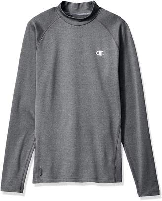 Champion Men's Cold Weather Long Sleeve Mock Neck Tee