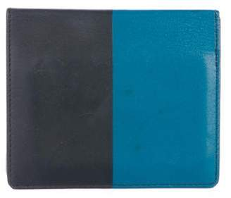 Hermes 2016 Sombrero and Tadelakt Two Tone Manhattan Compact Wallet