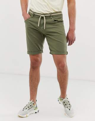 Tom Tailor shorts in olive green