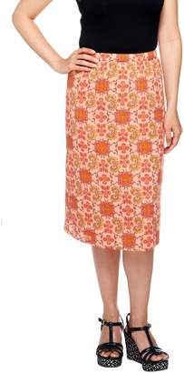 Liz Claiborne New York Pull-On Fully Lined Gauze Skirt