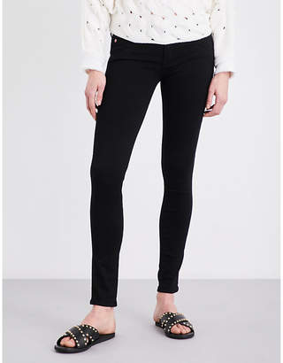 Hudson Collin super-skinny mid-rise jeans
