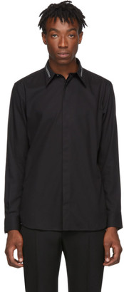 Givenchy Black Collar Webbing Shirt