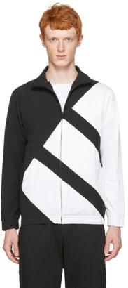 adidas Originals Black & White EQT Bold Track Jacket $100 thestylecure.com