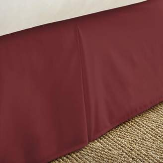 Noble Linens Premium Pleated Bed Skirt Dust Ruffle