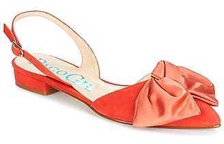 Paco Gil MARIE TOFLEX women's Sandals in Orange