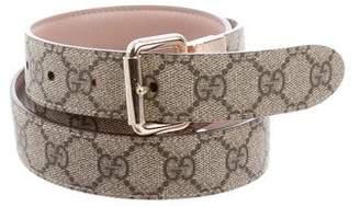 Gucci Reversible GG Guccissima Belt