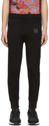Neil Barrett Black Piercing Biker Lounge Pants