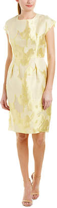 Escada Silk Sheath Dress