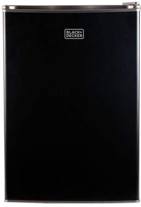 Black & Decker Black + Decker 2.5 cu. ft. Compact Refrigerator with Freezer