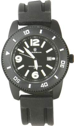 Smith & Wesson Men's SWW-5983 Paratrooper Rubber Strap Watch