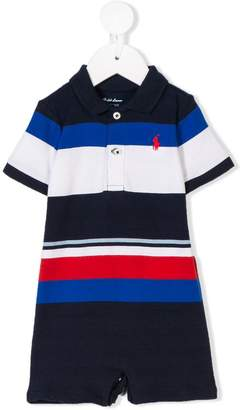 Ralph Lauren Kids striped polo shirt shortie