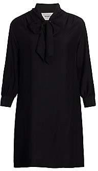 Baacal, Plus Size Women's Marion Scarf Neck Dress