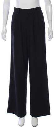 Raoul High-Rise Wide-Leg Pants