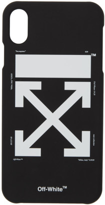 Off-White Black and White Arrow iPhone Max Case