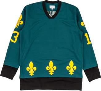 Supreme Fleur De Lis Hockey Top Teal