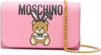 Moschino Teddy Playboy wallet on chain