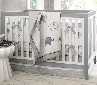 Pottery Barn Kids Nursery Bumper Bedding Set: Crib Skirt, Crib Fitted Sheet & Bumper