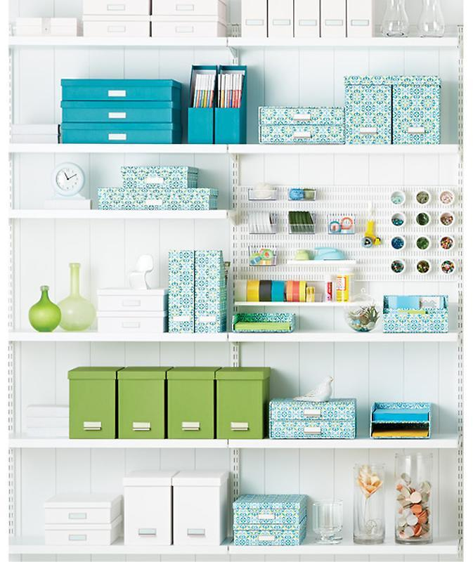 Container Store Bigso™ Stockholm Magazine File Green